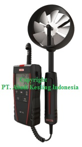 Anemometer With Temperature