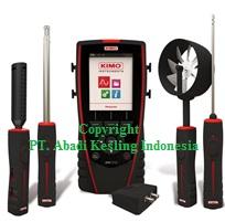 Portable Multi Probe Thermo Anemometer + Software