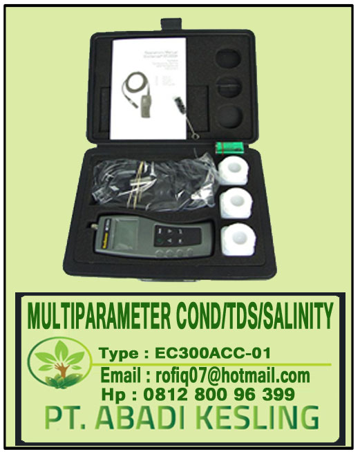 Multi Parameter pH-Conductivity-TDS-Temp Meter