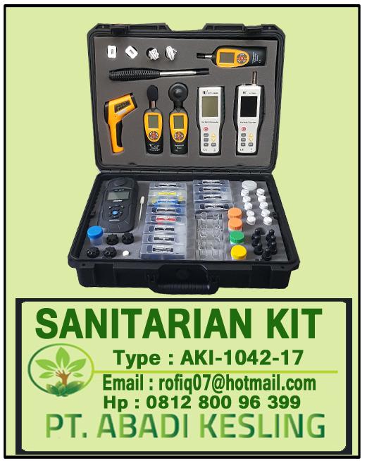 Daftar dan Spesifikasi Sanitarian Kit