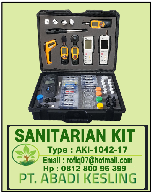 Spesifikasi Sanitarian Kit DAK 2021