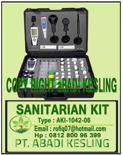 Sanitarian Kit, AKI-1410-06