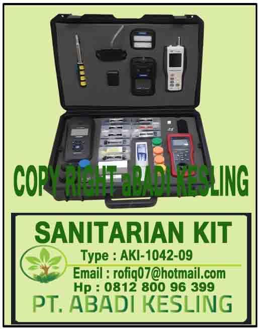 Sanitarian Kit, AKI-1410-09