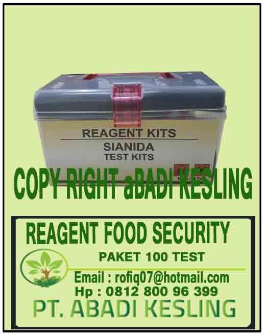Reagent Food Security Paket 100 Test