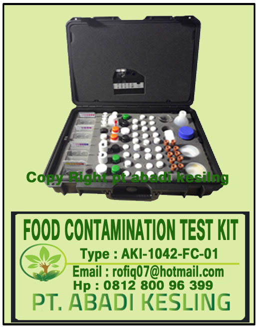 Food Contamination Test Kit