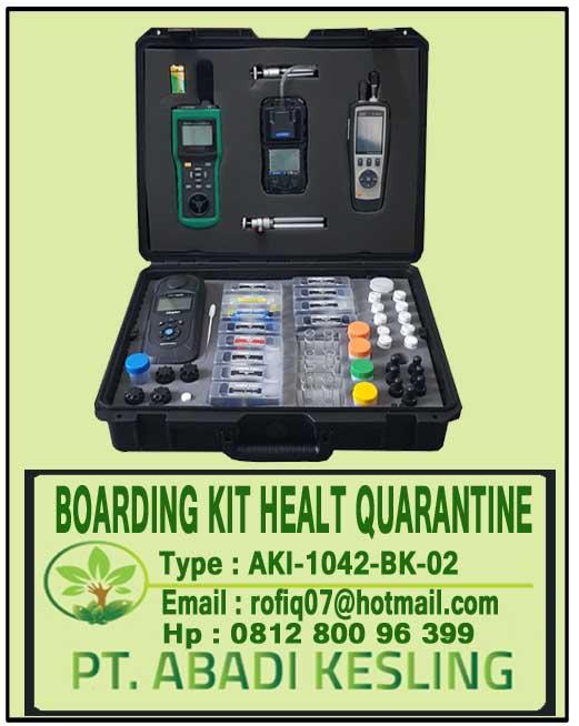 Boarding Kit Health Quarantine