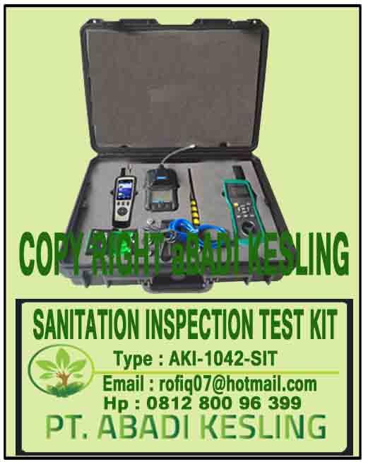 Sanitation Inspection Test Kit