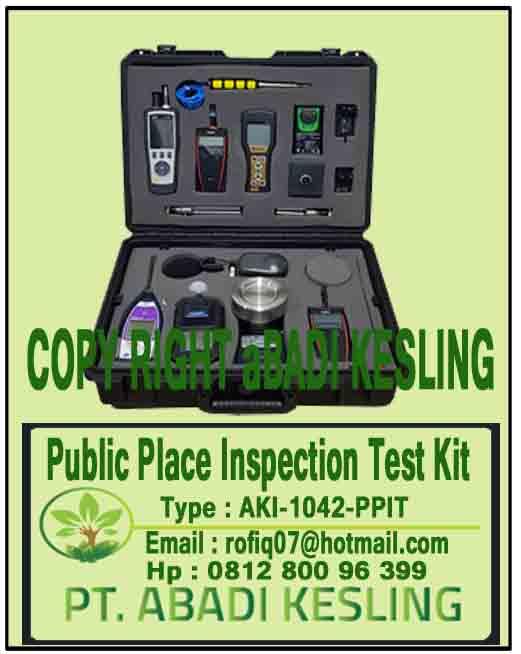 Public Place Inspection Test Kit