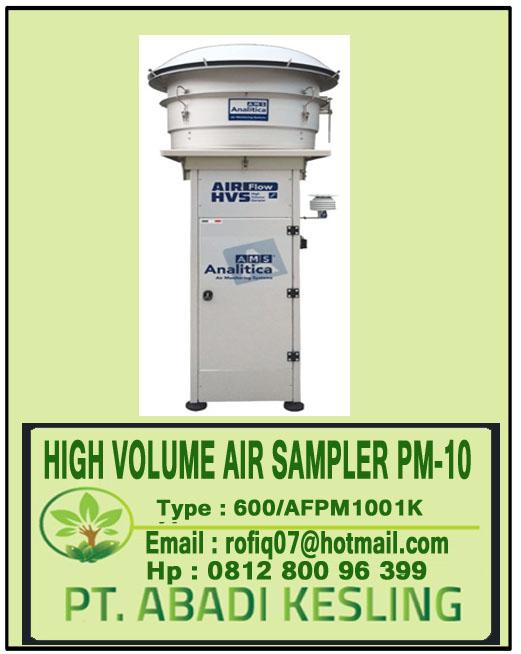 High Volume Air Sampler PM-10