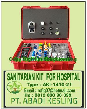 Sanitarian Kit For Hospital