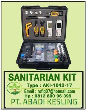 Ready Stock Sanitarian Kit AKI-1042-17